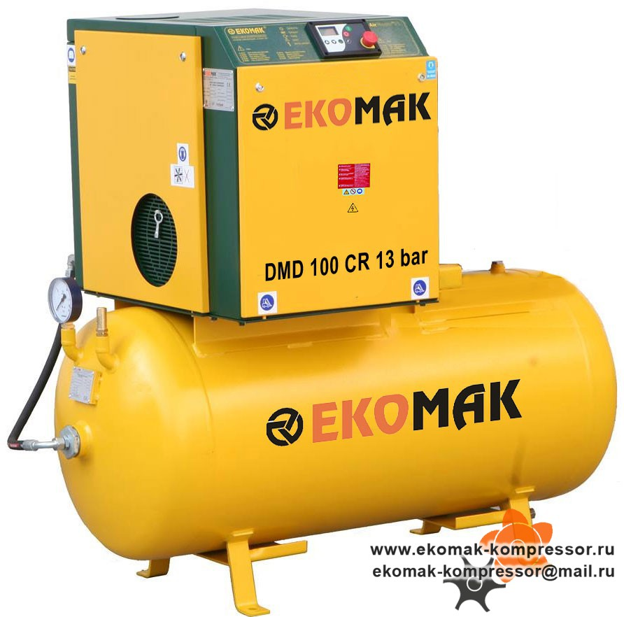 Компрессор Ekomak DMD 100 CR 13 bar