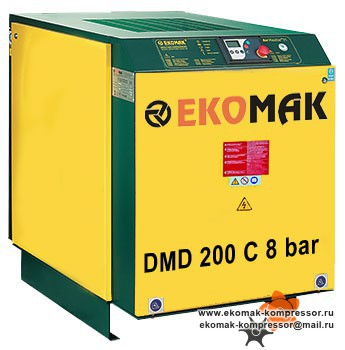 Компрессор Ekomak DMD 200 C 8 bar
