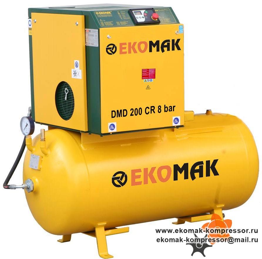 Компрессор Ekomak DMD 200 CR 8 bar