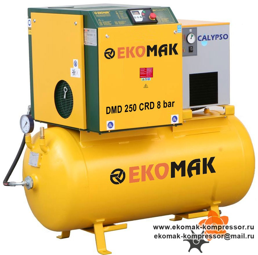 Компрессор Ekomak DMD 250 CRD 8 bar
