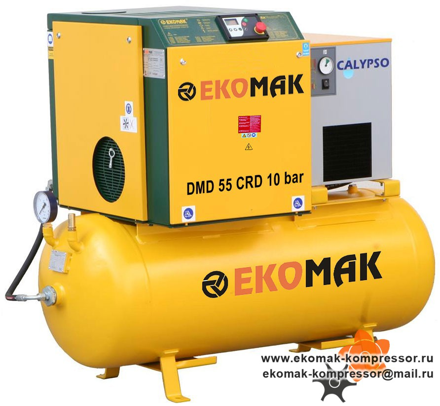 Компрессор Ekomak DMD 55 CRD 10 bar