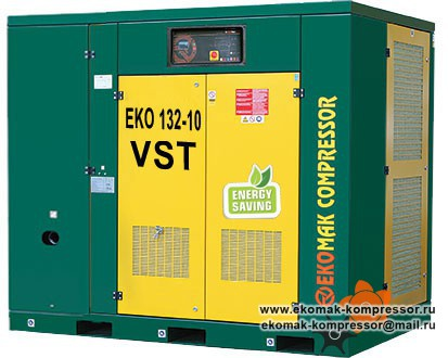 Компрессор Ekomak EKO 132 VST - 10 bar