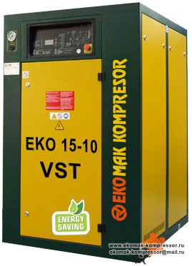 Компрессор Ekomak EKO 15 VST - 10 bar