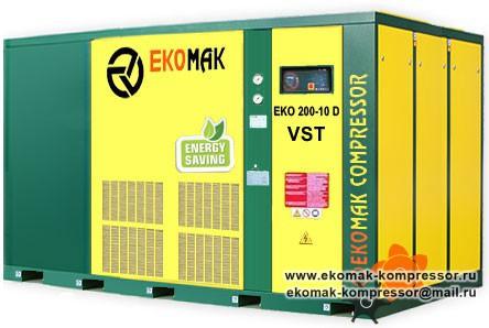 Компрессор Ekomak EKO 200 D VST - 10 bar