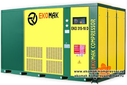 Компрессор Ekomak EKO 315 D - 10 bar