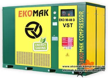 Компрессор Ekomak EKO 90 D VST - 8 bar