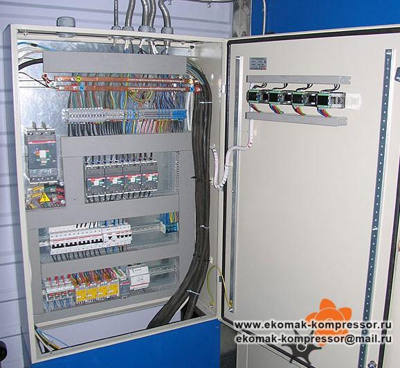 Силовой шкаф - модульная компрессорная станция Ekomak