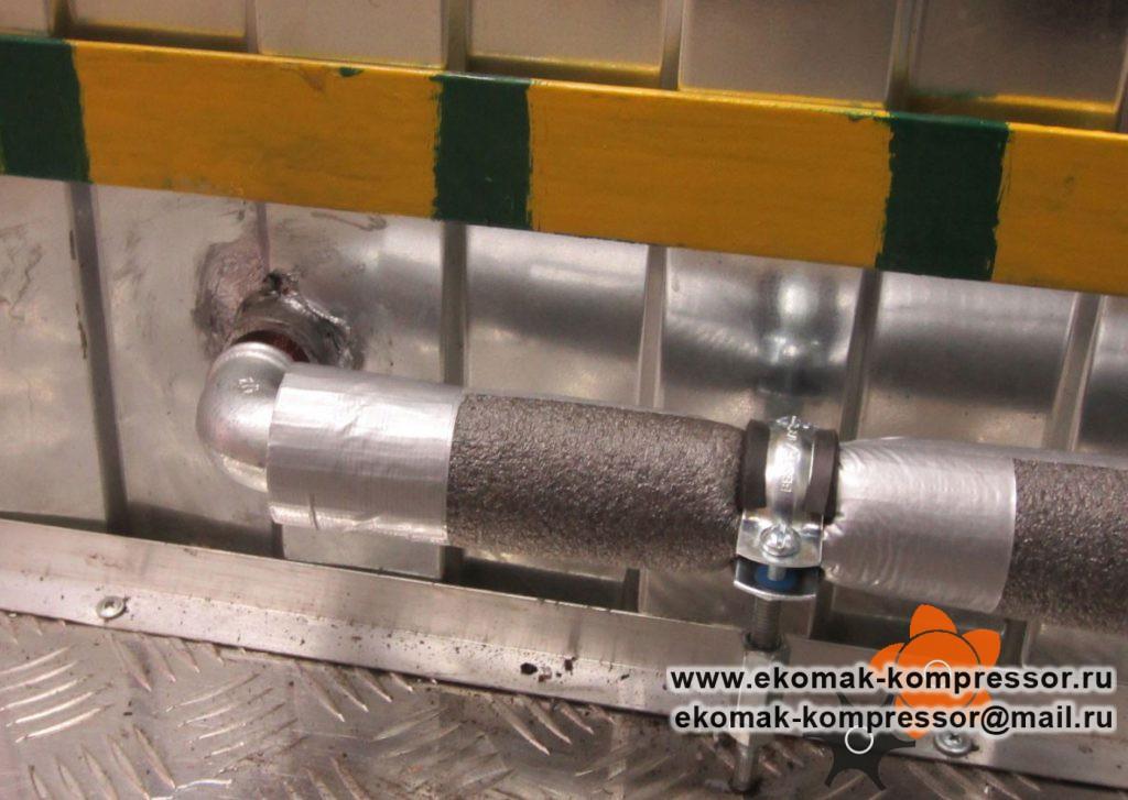 Дренаж - модульная компрессорная станция Ekomak