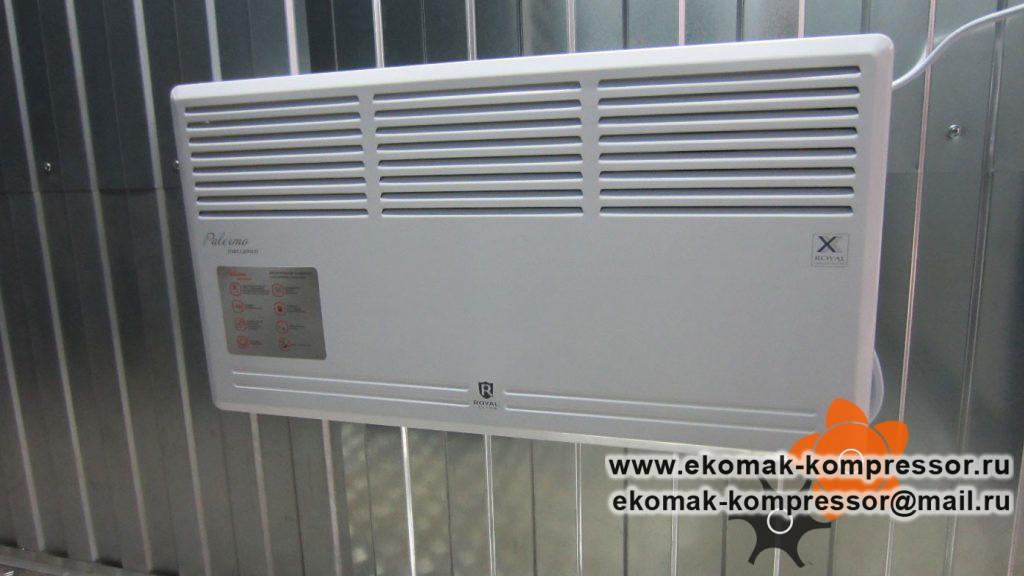 Обогрев - модульная компрессорная станция Ekomak